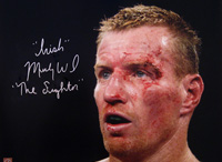 Irish Micky Ward Signed 16x20