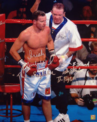 Micky Ward & Dick Eklund Signed 16x20 Photo